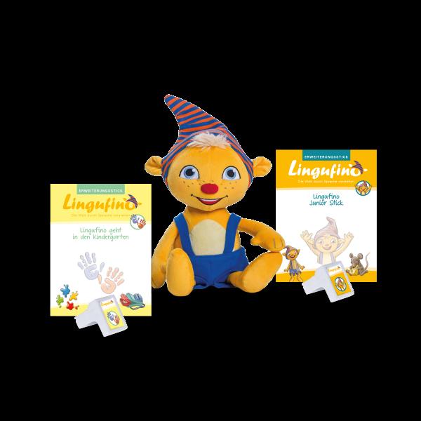 Bundle Junior Set + Lingufino geht in den Kindergarten