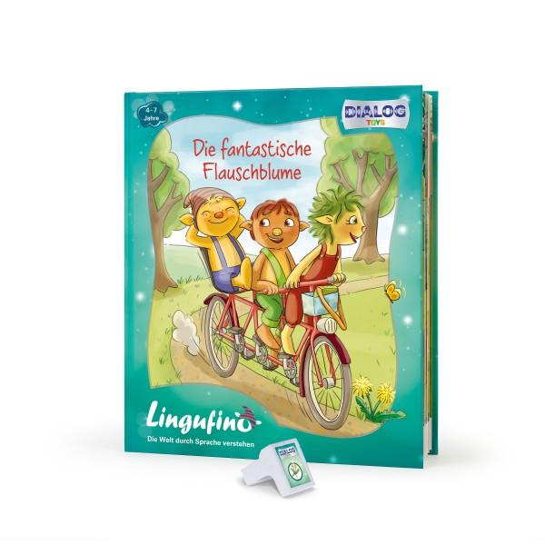 Lingufno Erweiterungs Set Flauschblume Buch und Stick