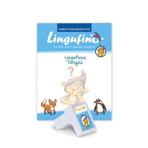 """Erweiterungs-Set """"Lingufinos Tierquiz"""""""