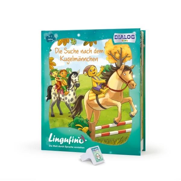 Lingufno Erweiterungs Set Kugelmännchen Buch und Stick