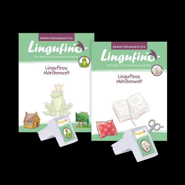 Bundle Lingufinos Märchenwelt 1 + Märchenwelt 2