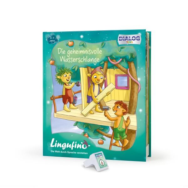 Lingufno Erweiterungs Set Wasserschlange Buch und Stick