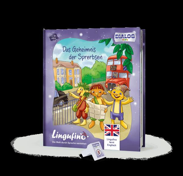 Lingufno lernt Englisch Sprerbsen