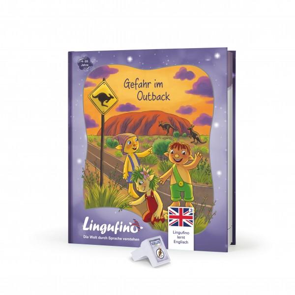 """Lingufino lernt Englisch in Australien """"Gefahr im Outback"""""""